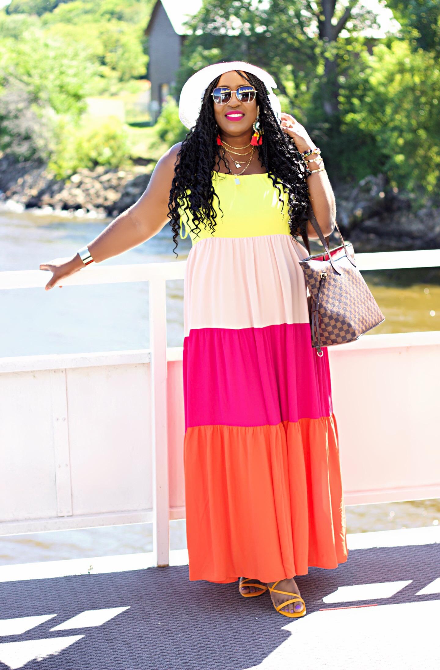 beautiful-colorblock-maxi-dress-fashion-hypnozglam