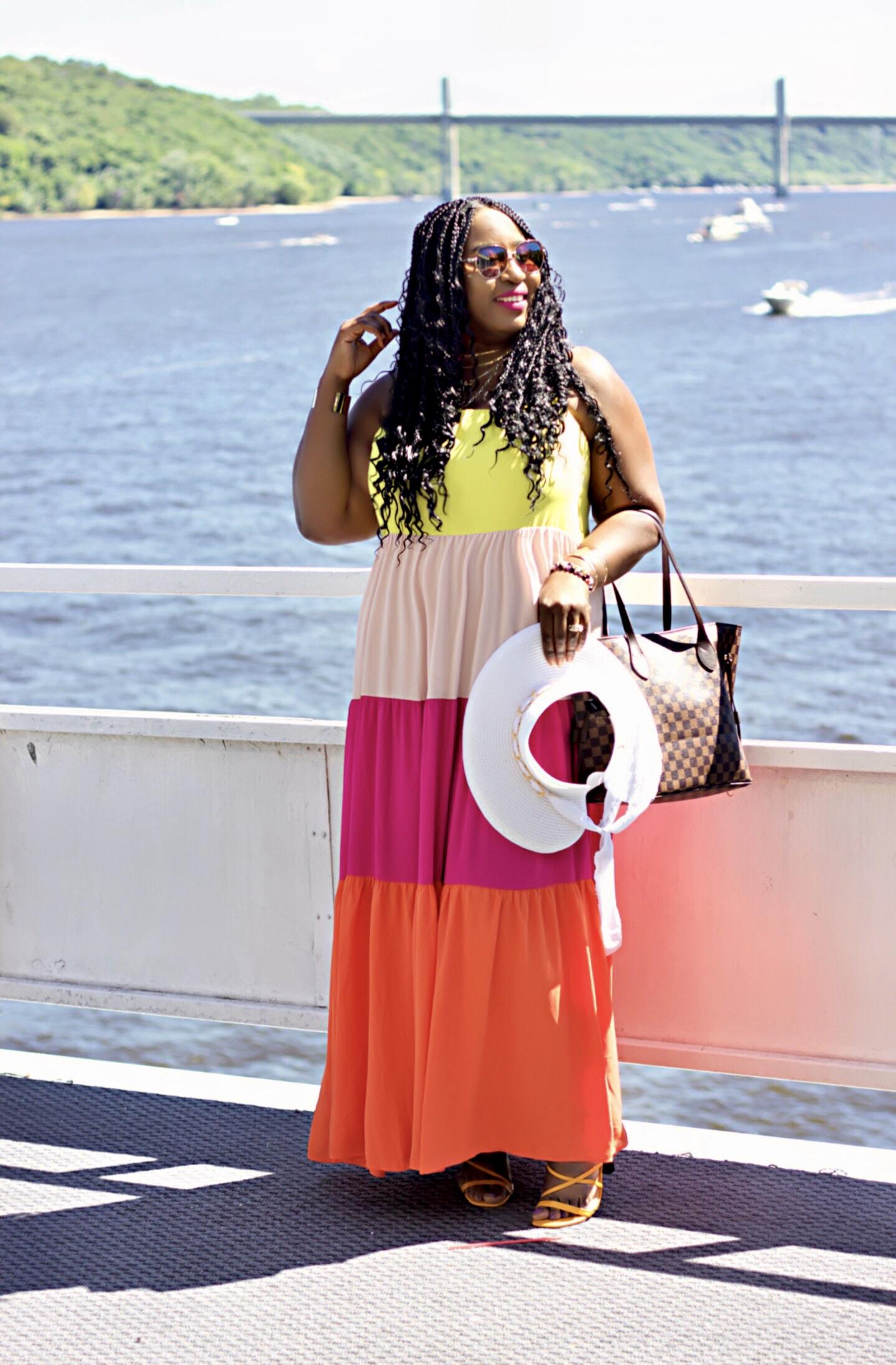 beautiful-colorblock-maxi-dress