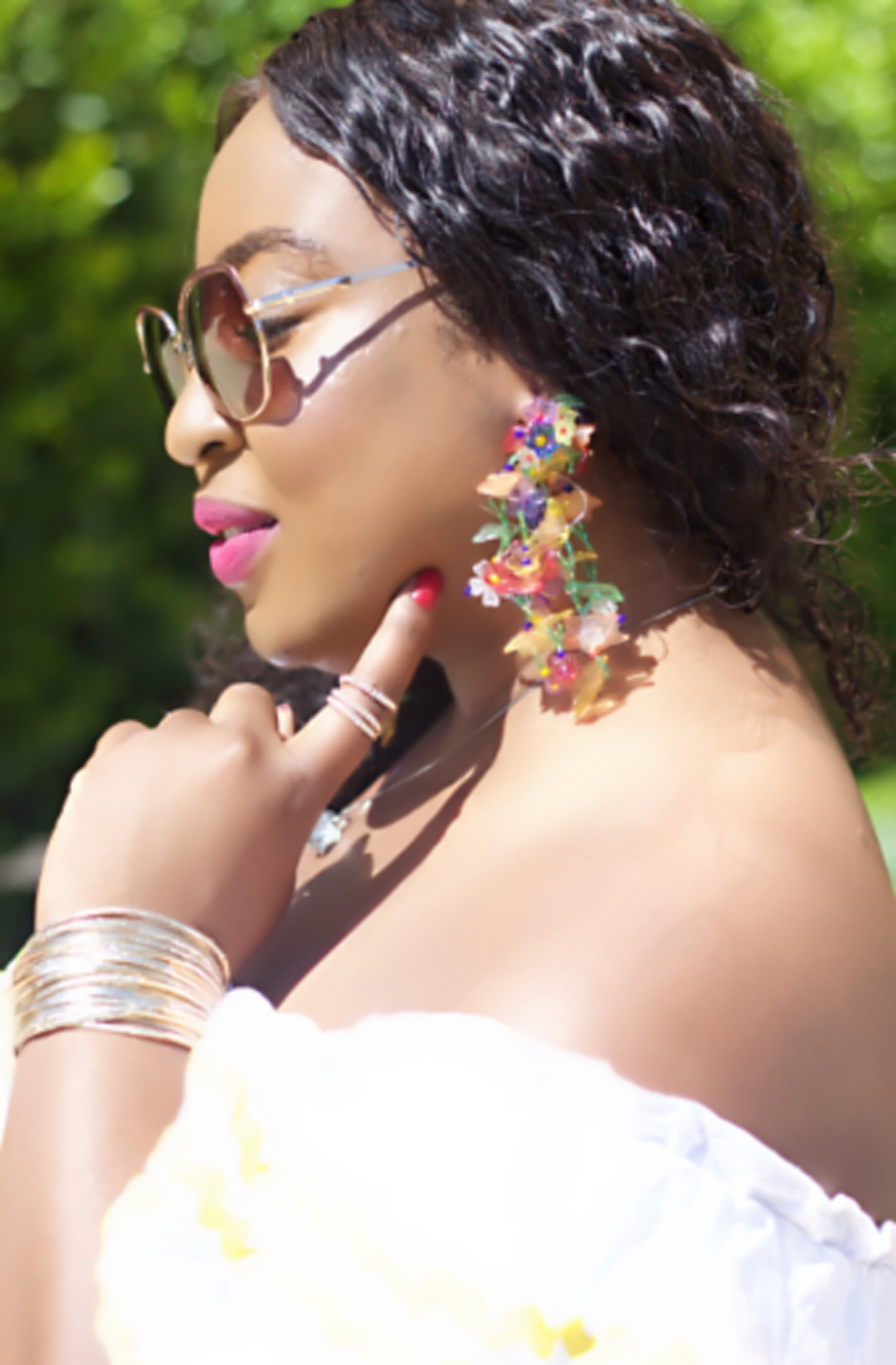 beautiful-fashion-accessories-zara-earings-pink-lipstick-hypnozglam