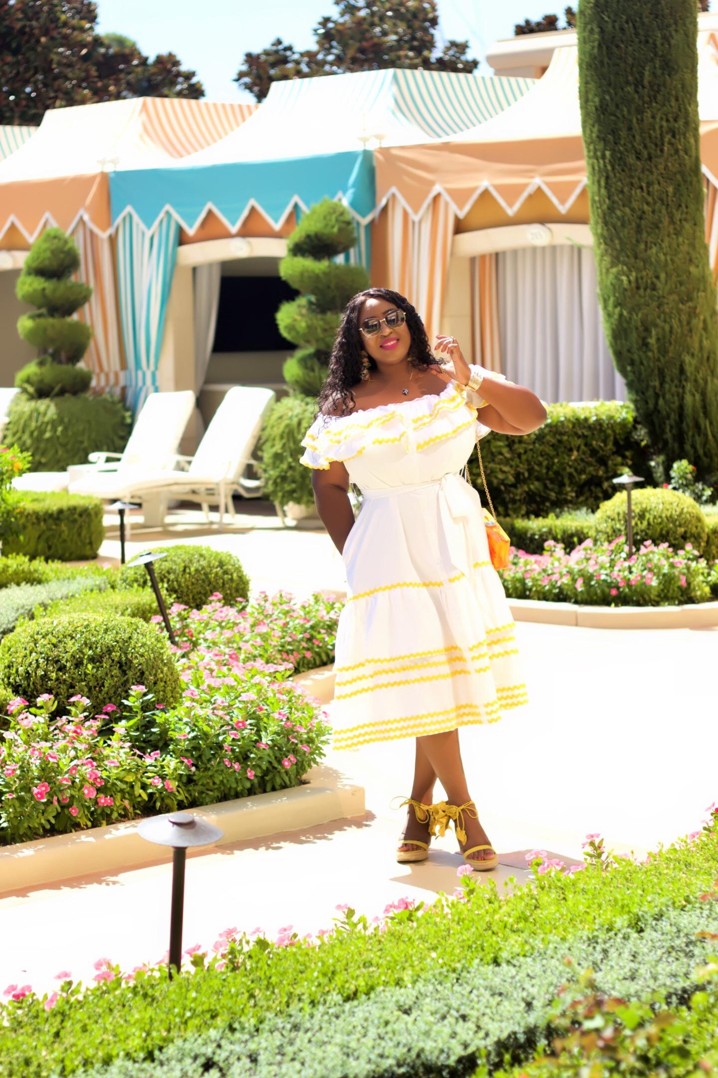 fabulous-white-off-the-shoulder-dress-black-woman