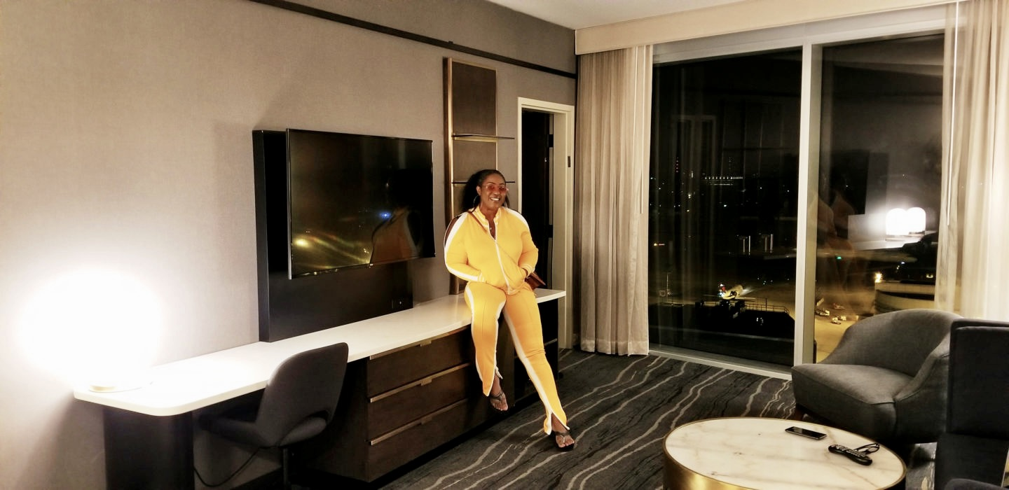 beautiful-yellow-tracksuit-hotel-lounge