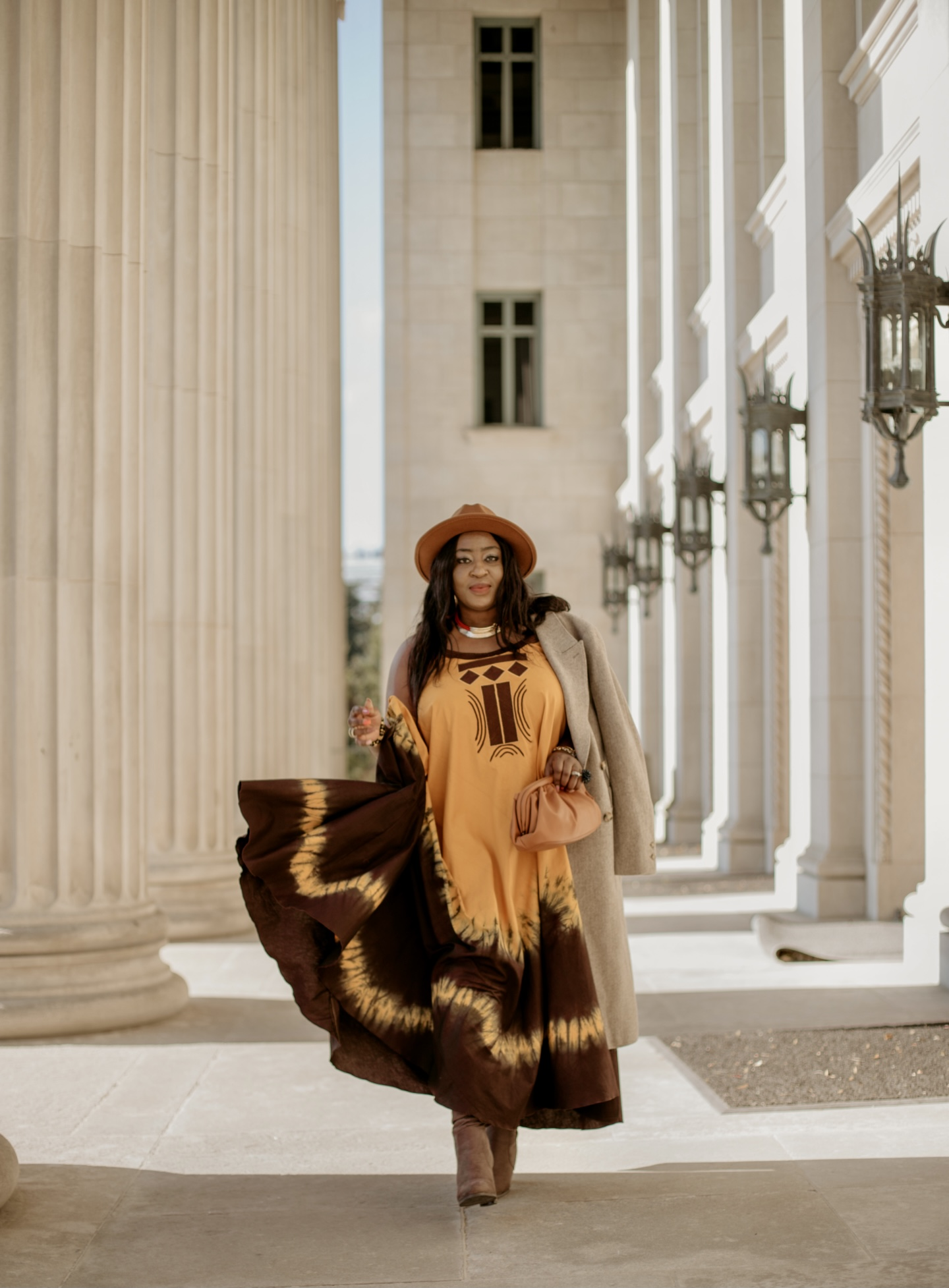 Afro-American fusion with Nadiaka Vêtements