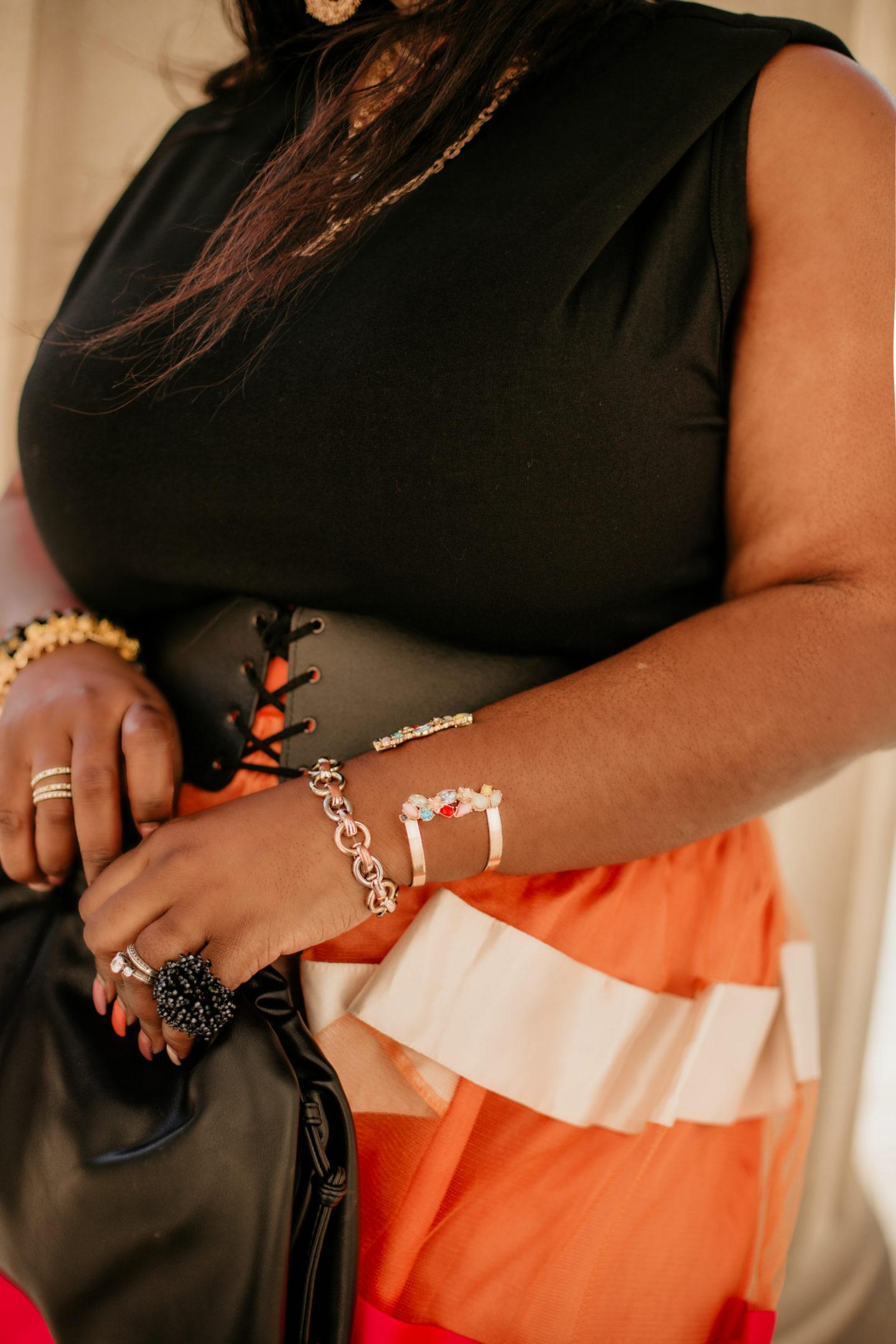 pink-sheer-leffet-glamour-skirt-satin-sheer-skirt-black-top