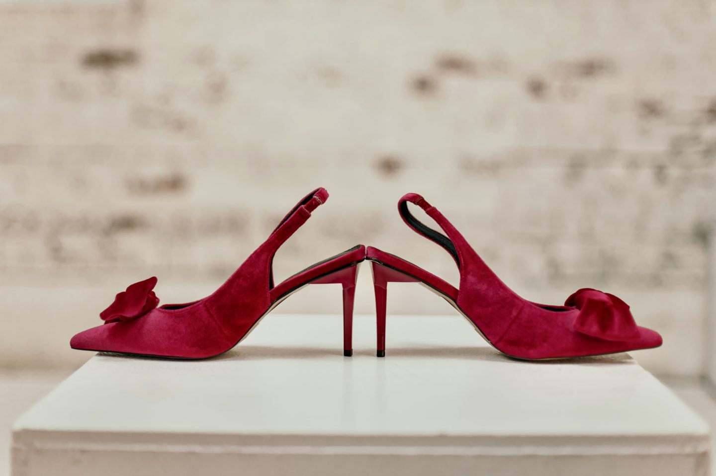 beautiful-colorblock-slip-dress-target-bow-pink-shoes