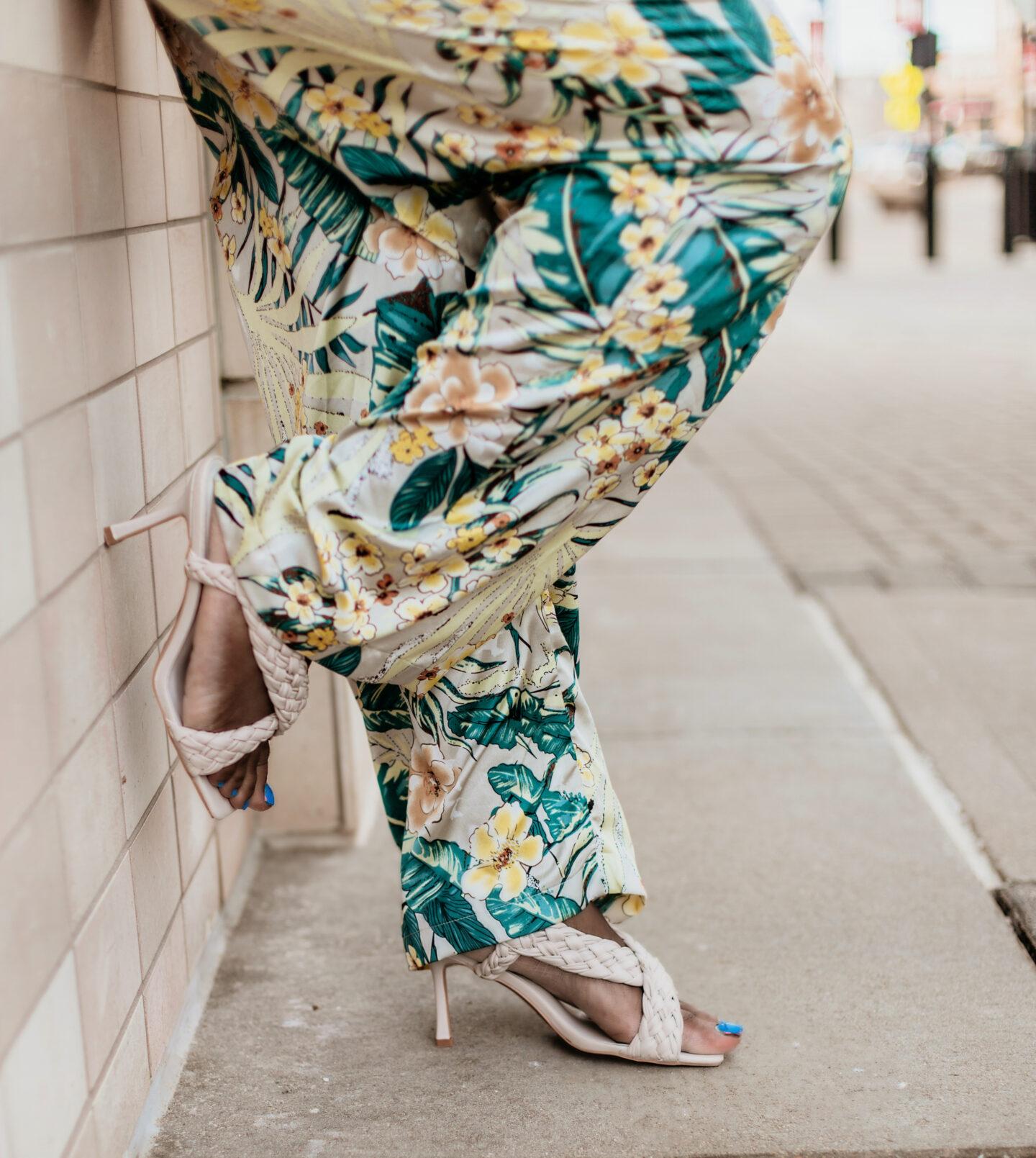 Fashion-nova-Beautiful-green-floral-jumpsuit-hypnozglam-spring