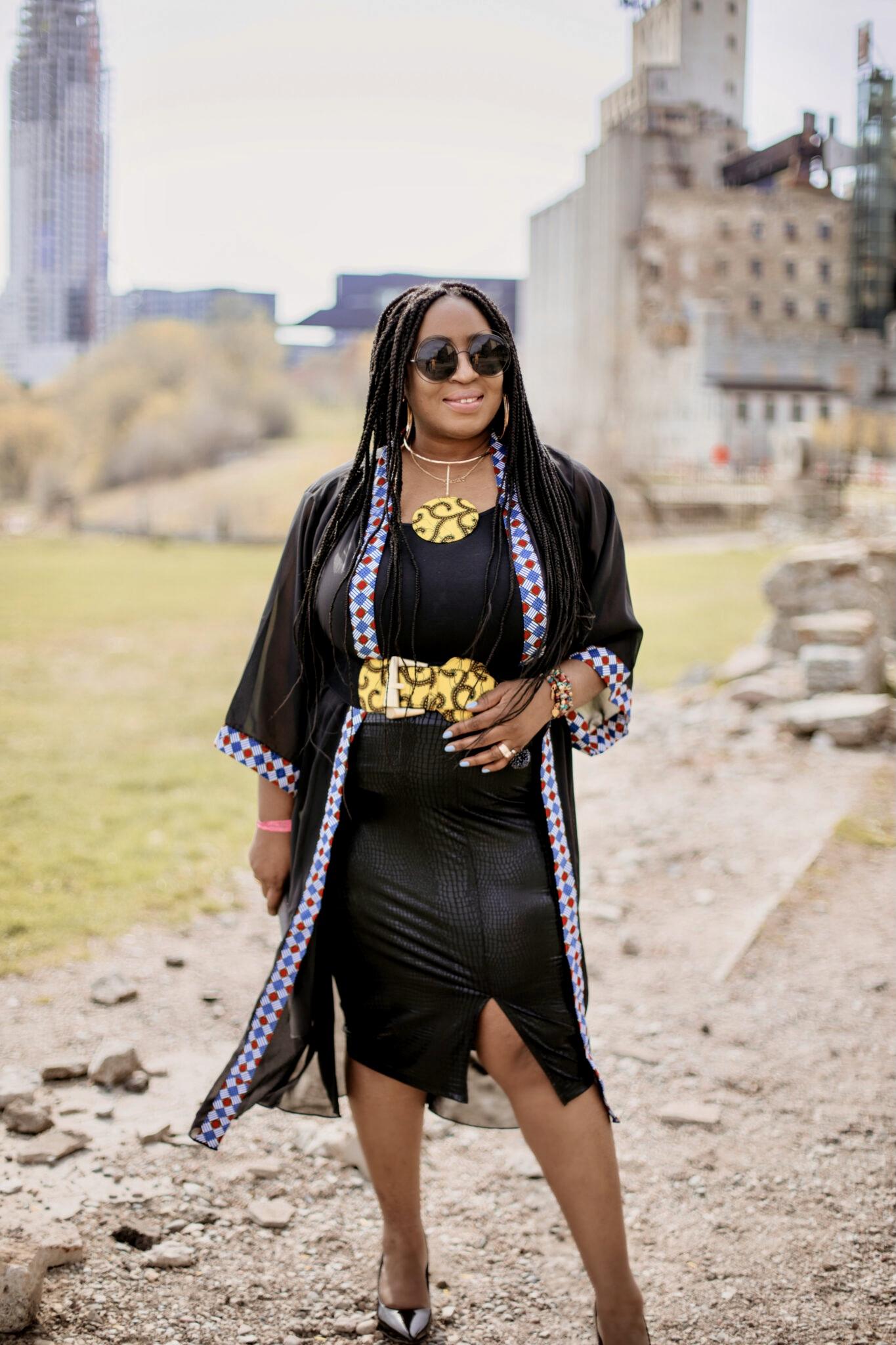 Black-kimono-robe-african-prints-hypnozglam