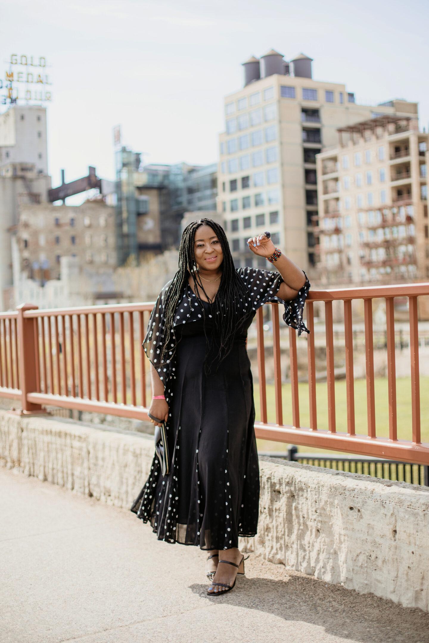 black-polka-dot-maxi-dress